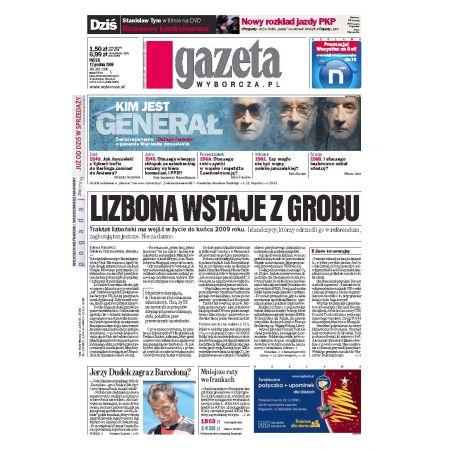 Gazeta Wyborcza - Wrocław 290/2008