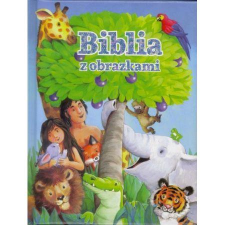 Biblia z obrazkami- niebieska