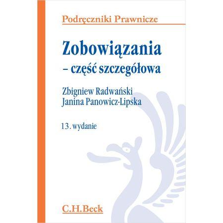 radwański zobowiązania część szczegółowa pdf chomikuj