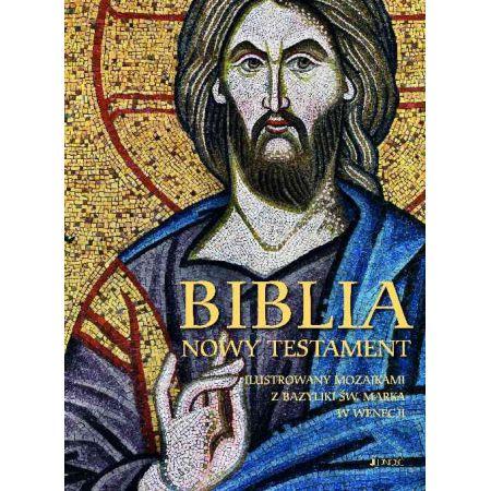 Biblia. Nowy Testament. Ilustrowany mozaikami...