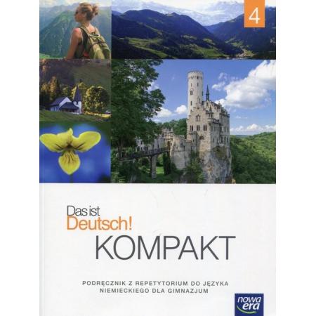Das Ist Deutsch Kompakt Cz. 4 Podręcznik Wieloletni