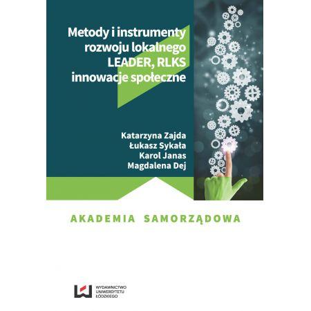 Metody i instrumenty rozwoju lokalnego