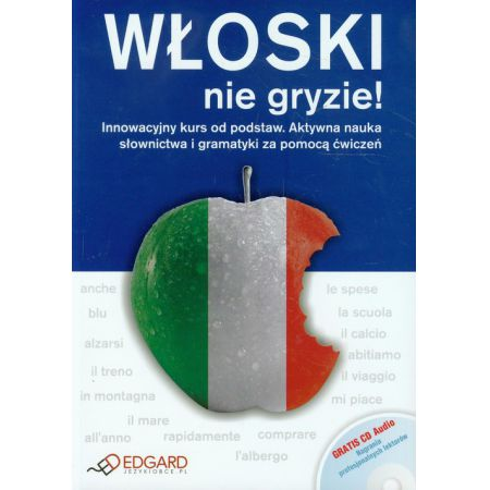 6d4b78f3008a86 Włoski nie gryzie! Książka + CD EDGARD Anna Wieczorek w TaniaKsiazka.pl