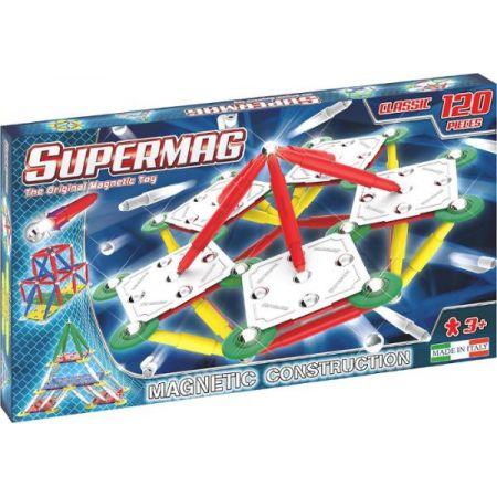 PROMO Klocki magnetyczne Supermag Classic Primary 120 elementów 403
