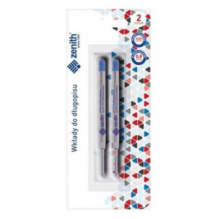 Wkład do długopisu niebieski 2szt ZENITH