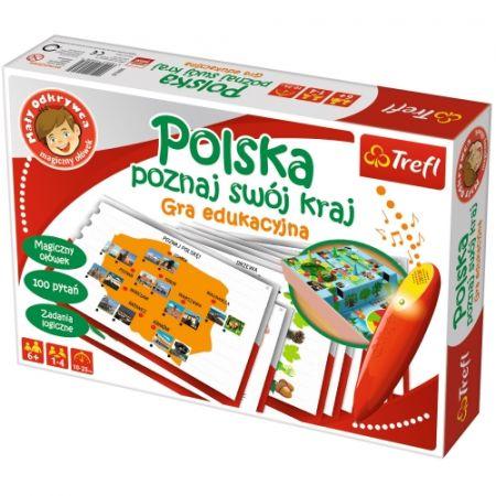 Polska-poznaj swój kraj Mały Odkrywca i magiczny ołówek
