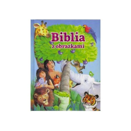 Biblia z obrazkami- różowa