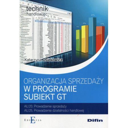 Organizacja sprzedaży z wykorzystaniem  Subiekt GT