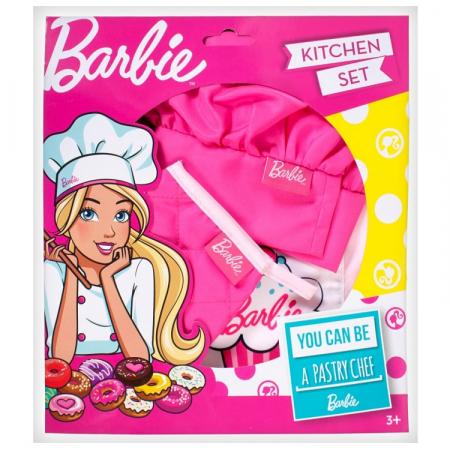 Zestaw mały kucharz Barbie RP
