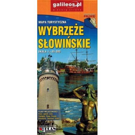 Zaktualizowano Mapa turystyczna - Wybrzeże Słowińskie 1:65 000 w TaniaKsiazka.pl GO86