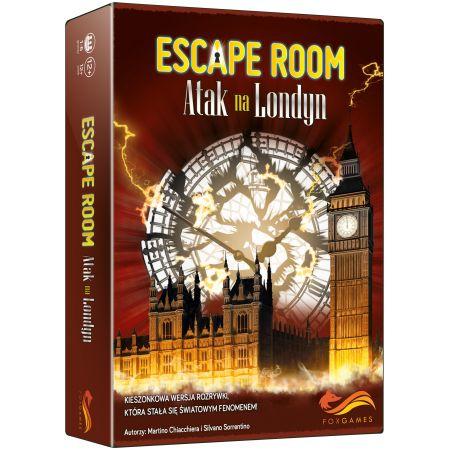 PROMO Gra Escape Room - Atak na Londyn FoxGames