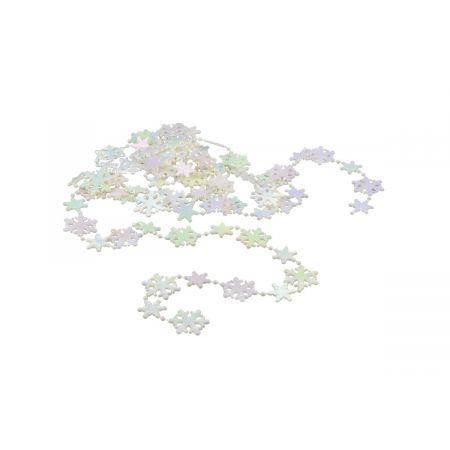 Ozdoba świąteczna Łańcuch Śnieżynki ARPEX BG9836