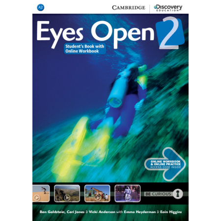 Eyes Open 2. Student`s Book with Online WB AND Online Practice