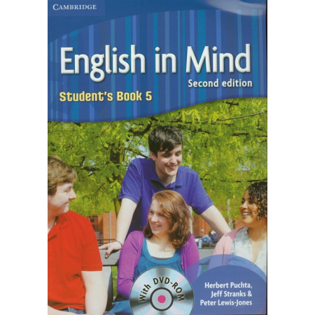 English in Mind 2ed 5 SB + DVD-ROM