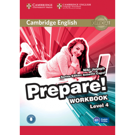 Prepare! 4 Workbook with Audio