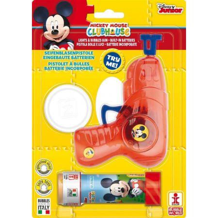 Średni pistolet do robienia baniek Mickey