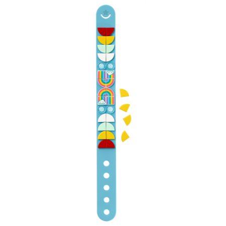 LEGO Dots. Bransoletka z tęczą