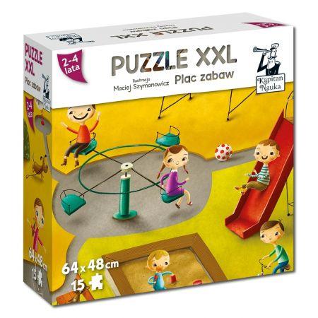 Puzzle XXL Plac zabaw EDGARD