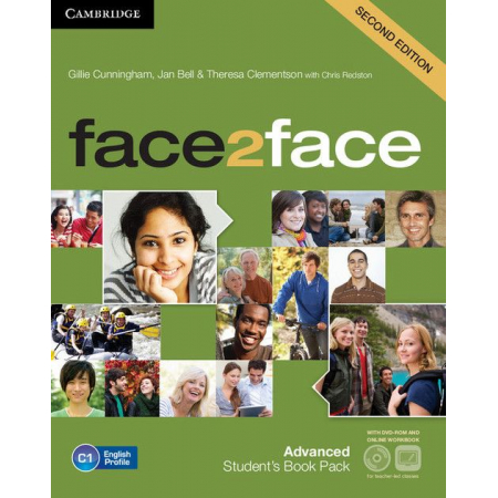 Face2face Advanced. Student`s Book with DVD-ROM AND Online Workbook