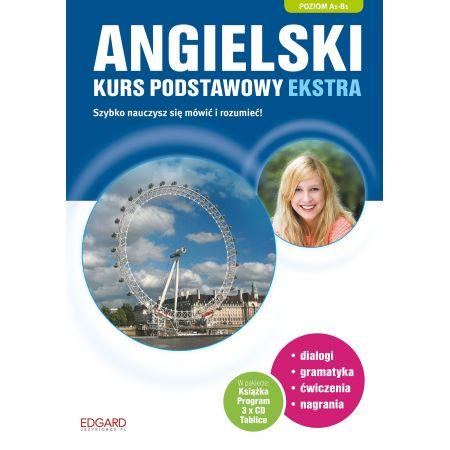 Angielski. Kurs podstawowy ekstra A1-B1 + CD