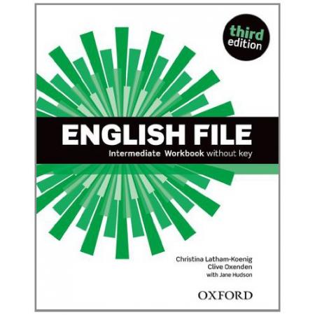 English File Intermediate. Workbook without key