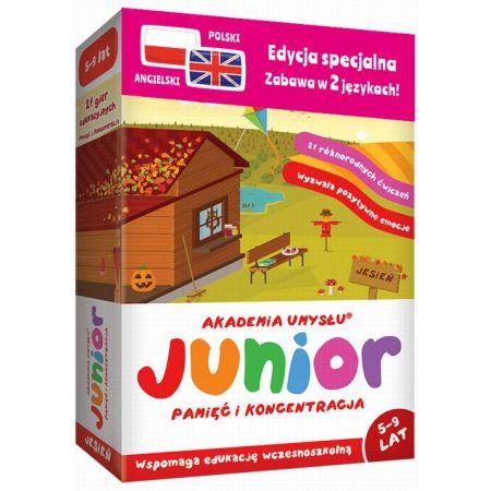 Junior JESIEŃ (pol-ang.) seria Akademia Umysłu
