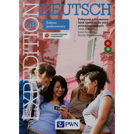Język niemiecki Expedition Deutsch 3B podręcznik z ćw. LO / zakres podstawowy