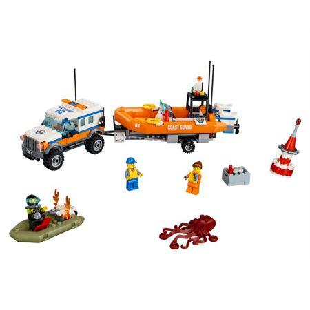 LEGO City. Terenówka szybkiego reagowania 60165