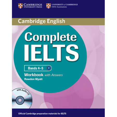 Complete IELTS Bands 4-5 Workbook with Answers + CD