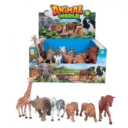 Zwierzęta Dzikie  figurki MEGA CREATIVE 454273