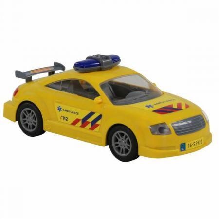 Polesie 71293  Samochód ratowniczy, inercyjny w worku