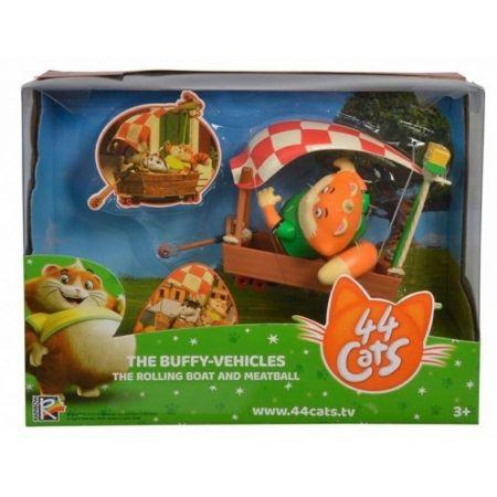 Figurka 44 Koty Klopsik z łódką