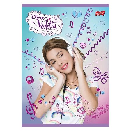 Zeszyt A5 laminowany w kratkę 60 kartek Violetta (różne wersje wzorów)