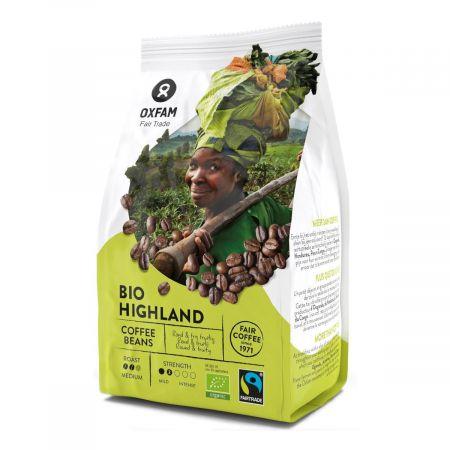 Kawa Ziarnista Arabica Wysokogórska Fair Trade Bio - Oxfam