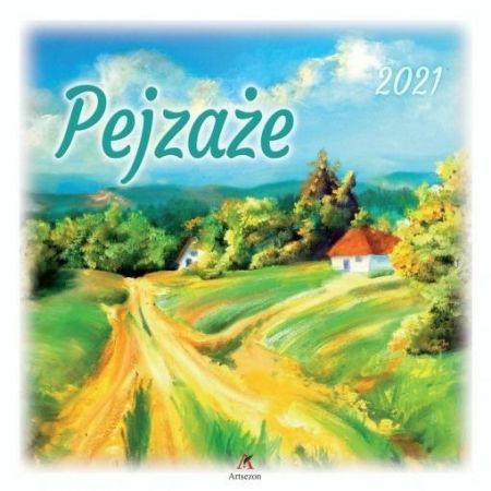Kalendarz 2021 Ścienny Pejzaże ARTSEZON