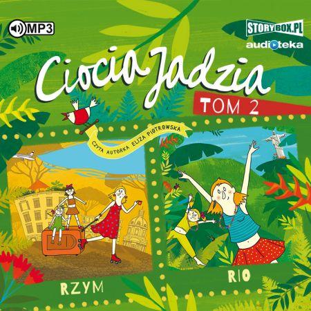 CD MP3 Rzym. Rio. Ciocia Jadzia. Tom 2