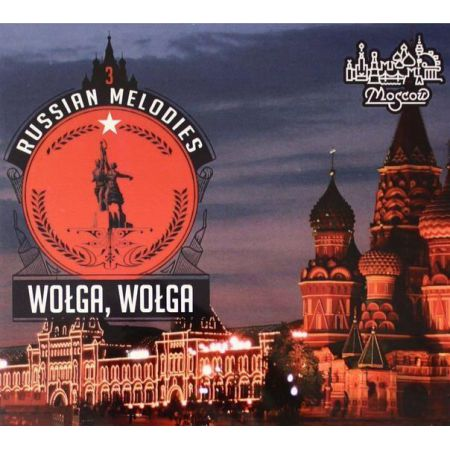 Russian Melodies 3 Wołga, Wołga CD