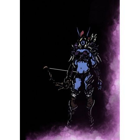 BlizzardVerse Stencils - Sylvanas, the Banshee Queen, Warcraft - plakat