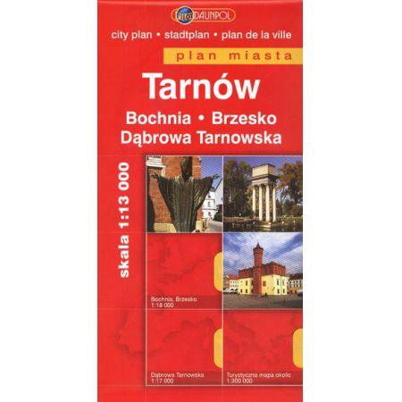 Tarnów. Plan Miasta DAUNPOL
