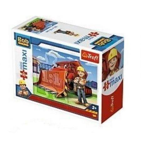 Puzzle 20 miniMaxi - Bob i maszyny 4 TREFL