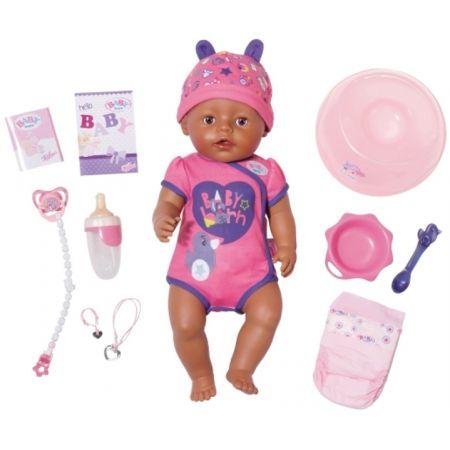 Baby born - Lalka interaktywna Soft Touch-etniczna