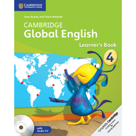 Cambridge Global English 4 Learner's Book with Audio CD