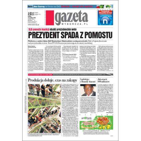 Gazeta Wyborcza - Płock 296/2008
