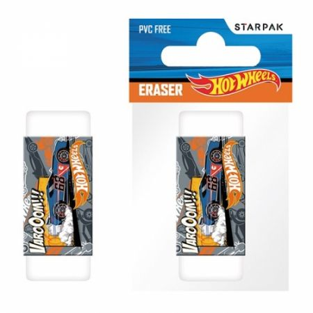 Gumka Hot Wheels w woreczku STARPAK