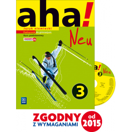 AHA! 3 Neu Podr. + 2CD ZP WSiP