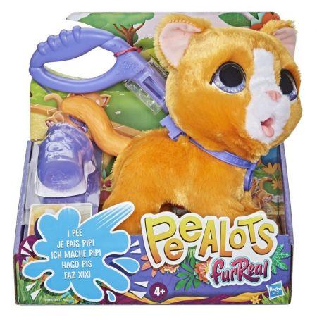 FurReal Peealots Duży kot na smyczy E8949 E8931 HASBRO