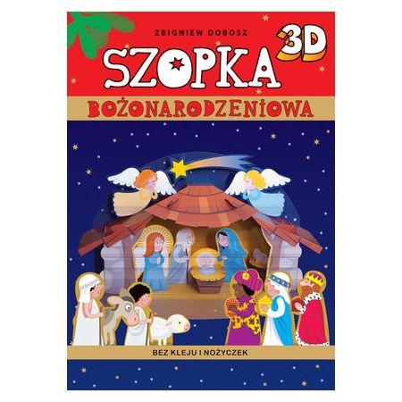 Szopka bożonarodzeniowa 3D