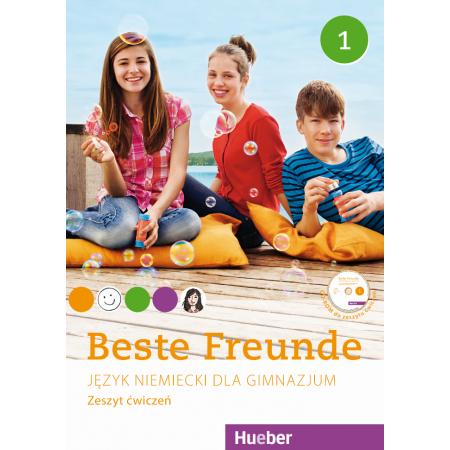 Beste Freunde 1. Język niemiecki. Zeszyt ćwiczeń. Gimnazjum