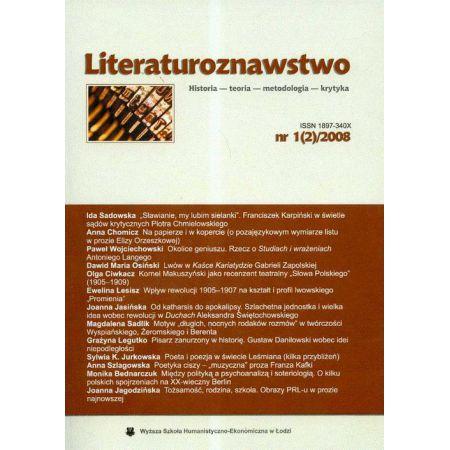 Literaturoznawstwo nr 1(2)2008