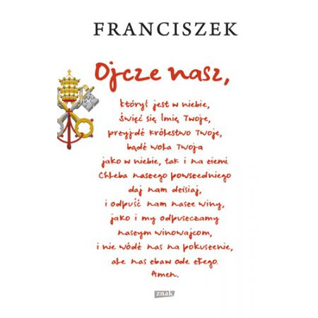 Ojcze nasz (Papież Franciszek) książka w księgarni TaniaKsiazka.pl